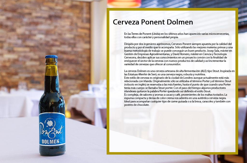 Cerveza Ponent Dolmen