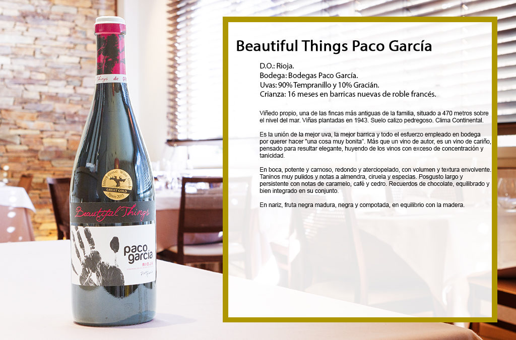 Beautiful Things Paco García