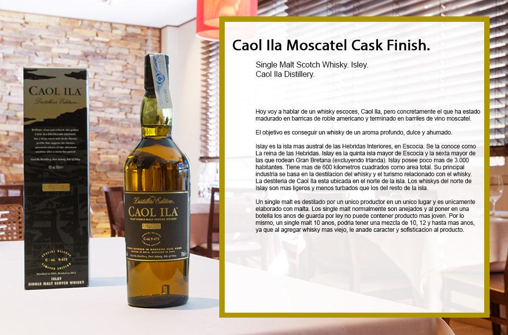 Caol Ila Moscatel Cask Finish.