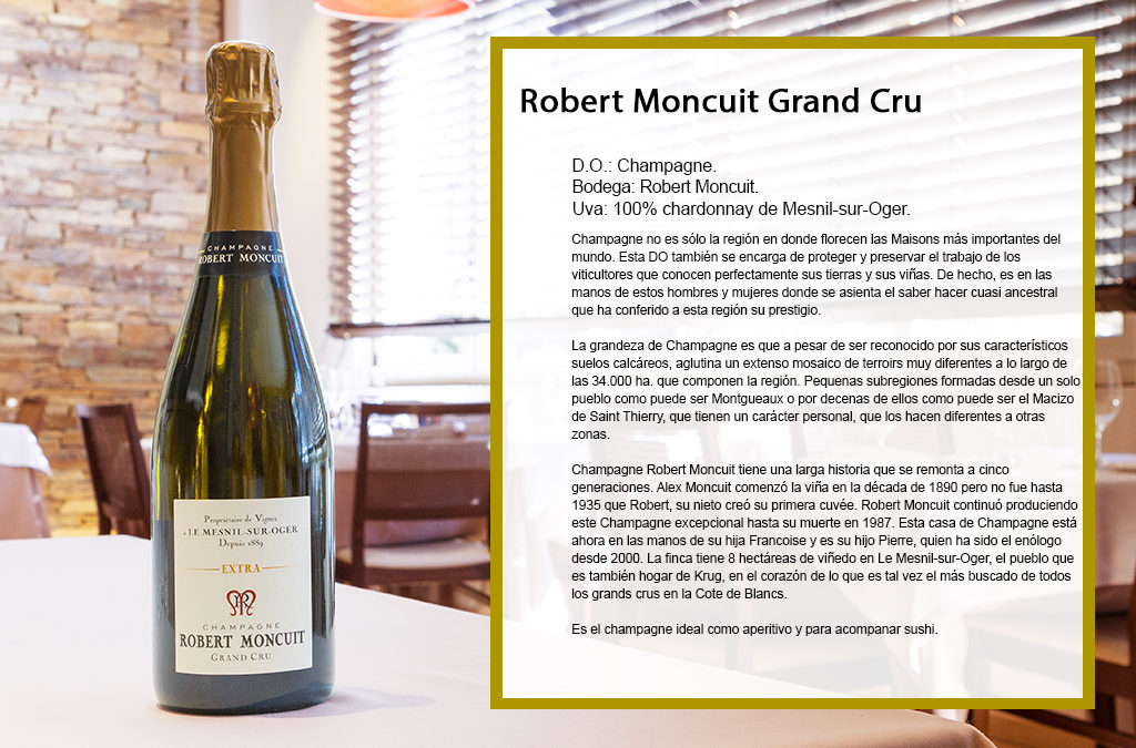 Robert Moncuit Grand Cru