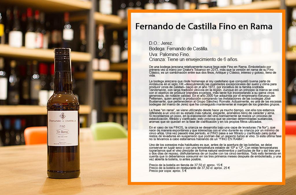Fernando de Castilla fino en Rama
