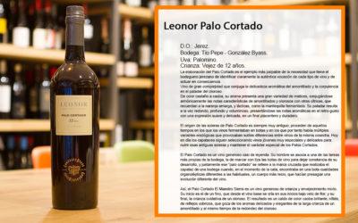 Leonor Palo Cortado